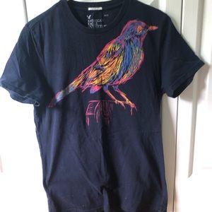 American Eagle Rainbow Bird T-shirt